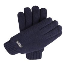 Dents Mens knitted gloves, thinsulate lined