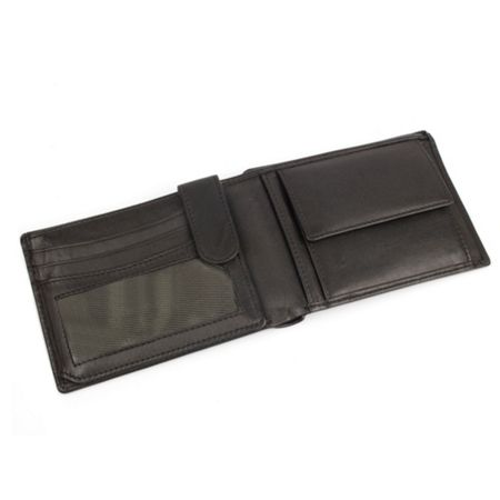 Dents Mens Plain Bi-Fold Wallet