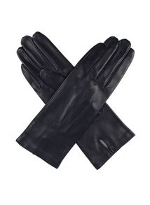 Dents Ladies leather glove with silk lining