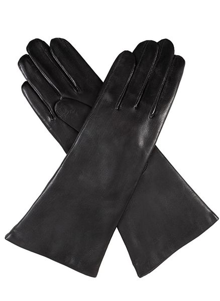 Ladies cashmere lined gloves