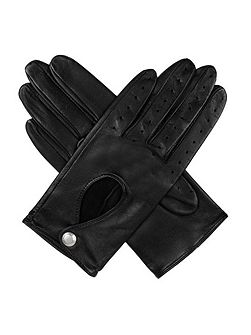 Dents Ladies lambskin leather driving glove