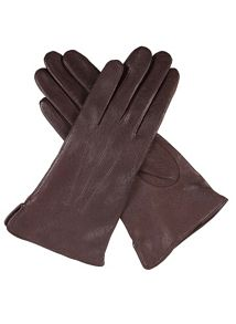 Ladies imitation Peccary Leather Glove