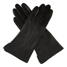 Dents Ladies imitation peccary leather glove