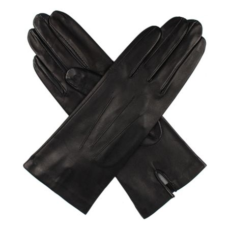 Dents Ladies silk lined leather gloves