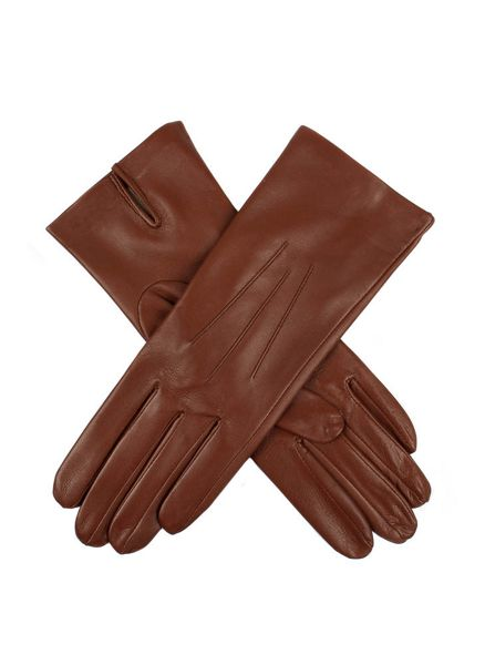 Dents Ladies silk lined leather glove
