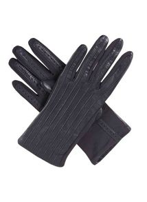 Ladies Leather Stretch Gloves