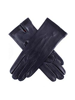 Ladies unlined leather glove with palm vent