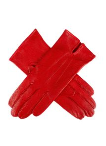 Dents Unlined leather glove with top vent
