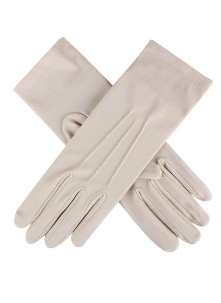 Ladies plain satin glove