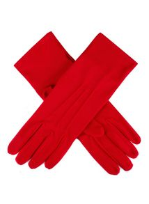 Ladies matt satin glove