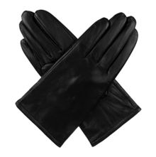 Dents Ladies classic leather fleece lined gloves