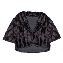 Dents Womens faux fur shrug