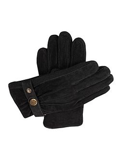 Mens casual suede gloves