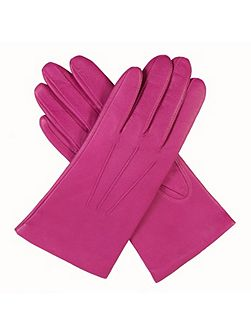 Ladies leather glove with acrylic lining
