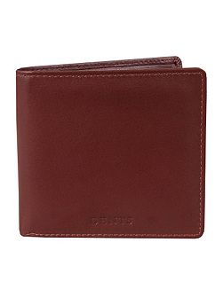 Mens Plain Bi-Fold Wallet