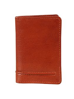 Mens leather card case