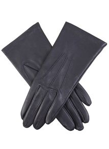Ladies classic leather glove with silk lining