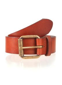 Dents Mens Waxed Leather Belt