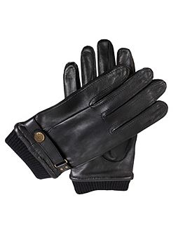 Mens casual leather gloves