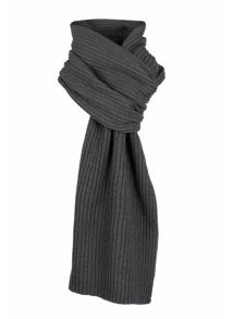 Dents Ribbed scarf