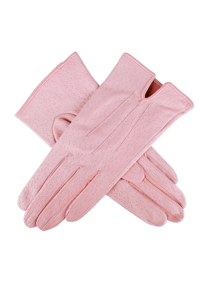 Ladies unlined leather gloves
