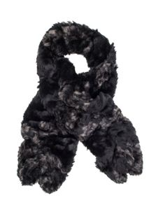 Dents Ladies crushed faux fur scarf