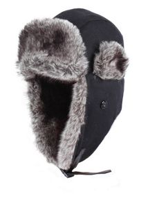 Dents Mens trapper hat