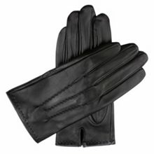 Dents Mens touchscreen leather gloves