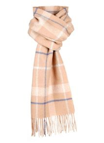 mens patterned lambwool scarf
