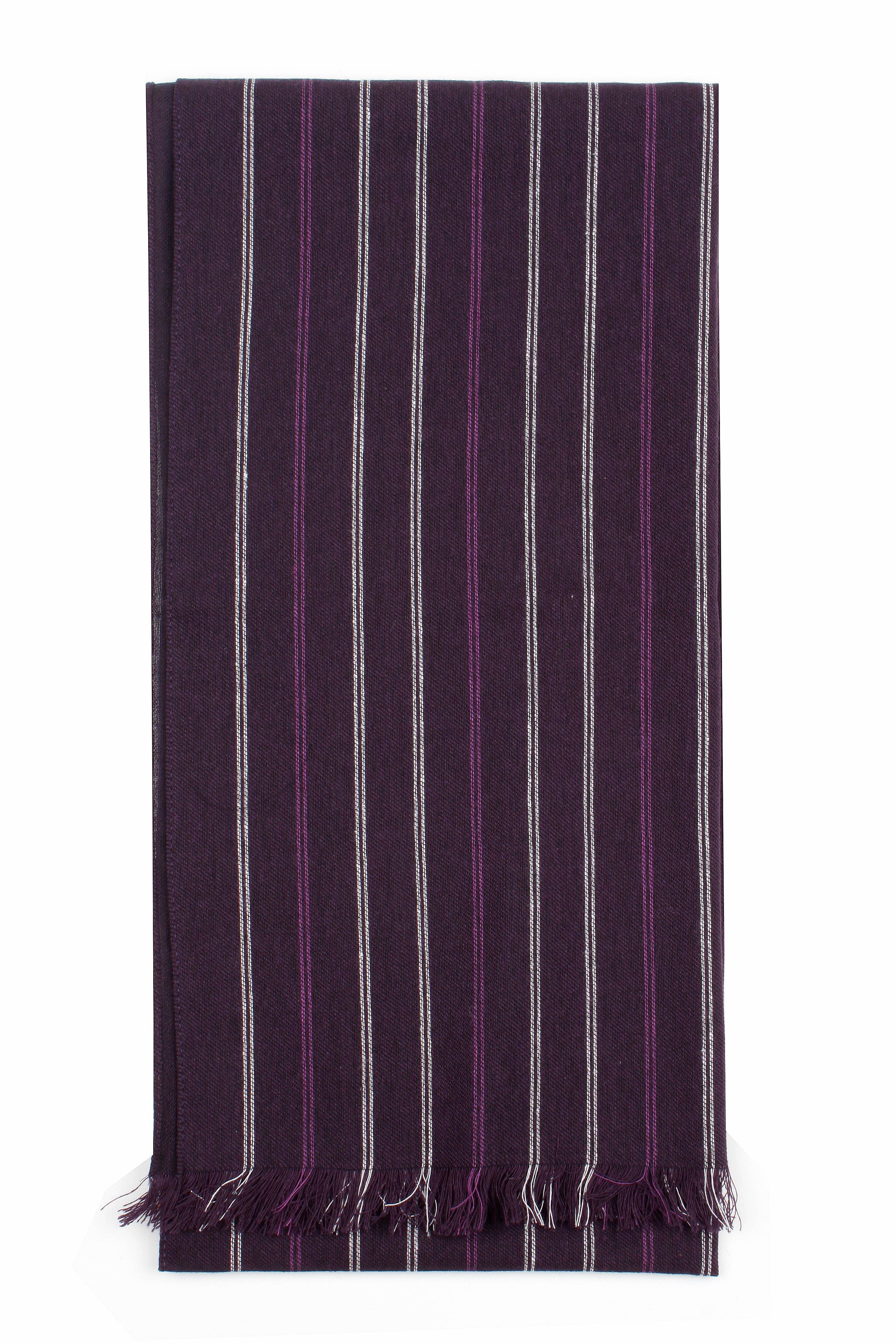 Mens stripe scarf