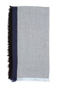 Mens woven scarf