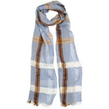 Dents Ladies classic check woven scarf