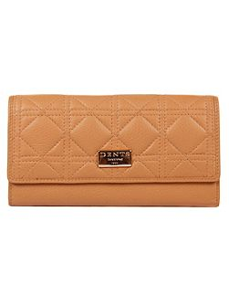Ladies flap over quilted purse