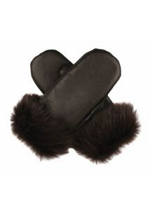 Ladies classic sheepskin mittens