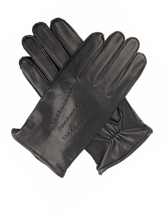 Dents Men`s Leather Glove With Warm Lining