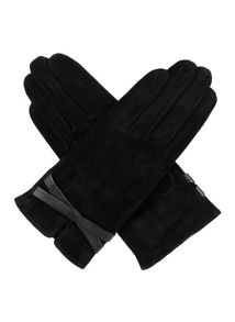 Dents Ladies Pig suede Glove