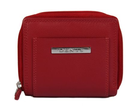 Dents Ladies soft zip round purse