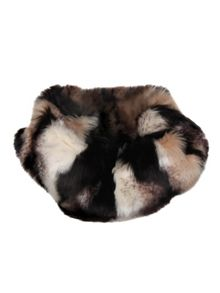 Ladies faux fur snood