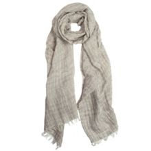 Dents Tonal aztec pattern stripe woven scarf