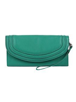 Ladies flap over purse with handle