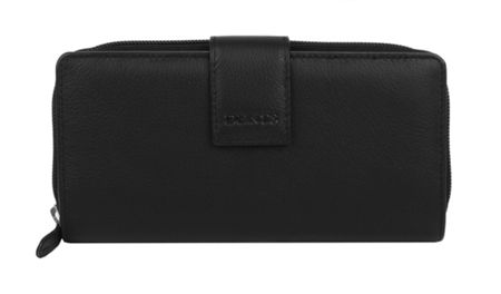 Dents Ladies purse with tab fastening