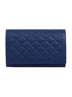 Ladies quilted flap over purse