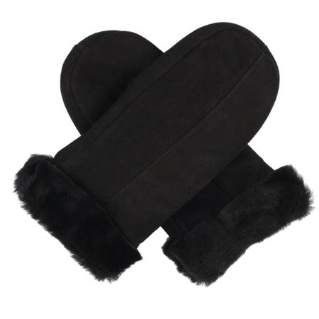 Dents Ladies sheepskin mittens