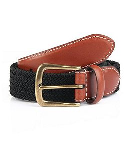 Mens Formal Polyester Belt