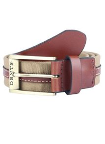 Dents Mens Formal Cotton Belt