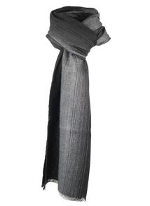 Dents mens two tone scarf