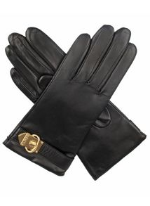 Ladies classic leather gloves