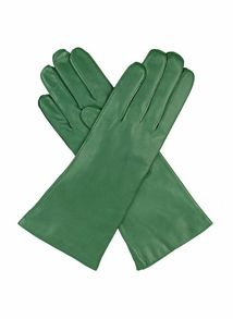 Dents Ladies leather gloves cashmere lined