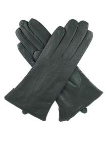 Dents Ladies leather acrylic lined gloves