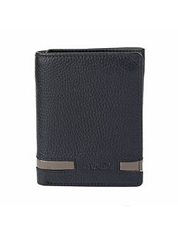 Mens Stripe Tri-Fold Wallet